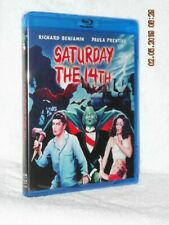 Saturday The 14th (Blu-ray, 1984) NEW horror Richard Benjamin Paula Prentiss