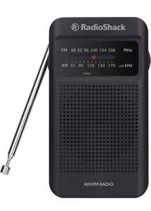 Classic Style Analog AM FM Pocket Radio Telescoping Antenna For Better Reception