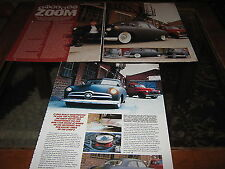 1950 Ford Tudor Reg. no DAS235 article also features Chevy Pickup reg. no. CSS87