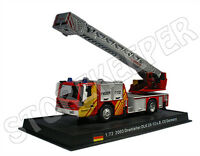 Baujahr 1980 Feuerwehr Kaufering rot 1:72 Altaya Iveco Magirus DLK 23-12 N.B