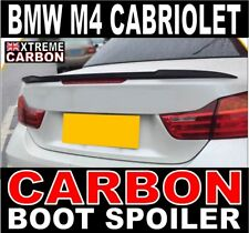 BMW M4 Cabriolet Carbon Rear Boot Spoiler UK Stock 4 Series Cabriolet