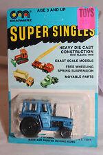 1970's Playart Charmerz Super Singles Tractor, Card Variation  Mint on Card