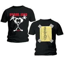 Pearl Jam T Shirt Stickman Official Black Mens Tee NEW Grunge Classic Rock