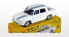 DAN TOYS Renault 8 Gordini Blanche Bandes Bleues Conducteur) 1/43