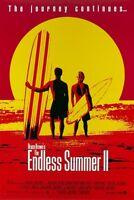 POSTER LOCANDINA THE ENDLESS SUMMER 2 SURF SURFING WAVES BEACH MOVIE HAWAII #1