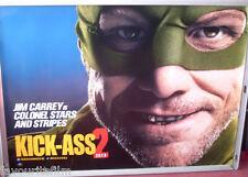 Cinema Poster: KICK-ASS 2 2013 (Colonel Stars And Stripes Quad) Jim Carrey