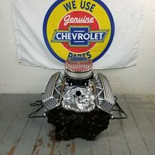 SB Chevy 12 Finned Air Cleaner Tall Valve Covers Engine Dress Up Kit 327 350