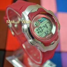 OHSEN Child Boy Girl Running School Watch Red Sport Digital Light Wrist Watch