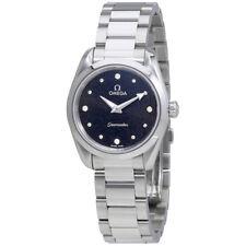 Omega Seamaster Aqua Terra Black Diamond Dial Ladies Watch 220.10.28.60.51.001