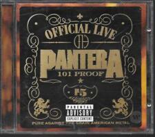CD ALBUM LIVE 16 TITRES--PANTERA--OFFICIAL LIVE - 101 PROOF--1997