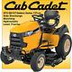Cub Cadet XT3 QS137 137cm Garden Site on Lawn Tractror Lawnmower Mower