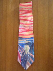 The Scream Necktie