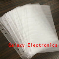 10pcs Empty pages For components sample book SMD Electronic Components assorted