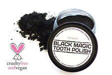 BLACK MAGIC CHARCOAL POWDER TOOTHPASTE POLISH CLEANER *25ml BARGAIN RRP £5