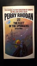 Perry Rhodan #22: The Fleet of the Springers: Kurt Mahr, 1973 Ace Books, E-90