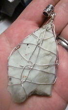 SS Infinite Healers Healing Stone Crystal Pendant #4 SOUTH AFRICAN SERPENTINE