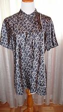 3-1 PHILLIP LIM FAB CLASSY ELEGANT TOP WITH FABRIC DETAILS, SIZE 10