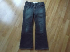 Ladies Womens GAP Size 10 A 10 Averge Denim Flare Blue Jeans Stretch
