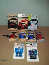 NIP Flexi Retractable Dog Leash w/Pick Up Bags-XS-Blue OR Red