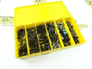 LOT OF ASSORTED INDEXABLE TOOL HOLDER HARDWARE SCREWS & CLAMPS