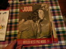 magazine hebdomadaire NUIT ET JOUR  n° 24 juin 1945 hitler n est pas mort