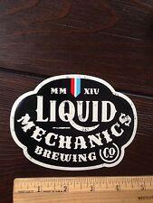 Lafayette LIQUID MECHANICS BREWING BREW BEER STICKER Colorado Brewery decal CO