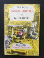 The Story of Jackie Thimble by James Reeves Illustrated by Edward Ardizzone 1970