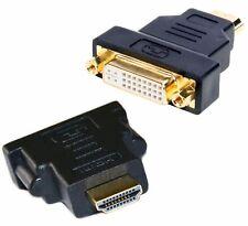 Adattatore HDMI Maschio e DVi I Dual Link Femmina Spinotto Full HD per Cavo