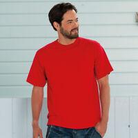 Russell Classic Heavyweight Ring spun T-shirt Plain Top Quality Men's Shirt New