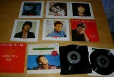 3 CLIFF RICHARD CHRISTMAS EP VINYL RECORDS - SAVIOURS DAY WE SHOULD BE TOGETHER