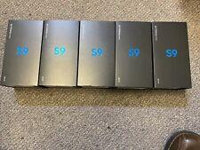 Lot Of 5 New Samsung Galaxy S9 Sm-G960 - 64Gb - Coral Blue (Verizon)