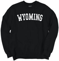 Wyoming Athletic Vacation State Pride Gift WY Crewneck Sweat Shirts Sweatshirts