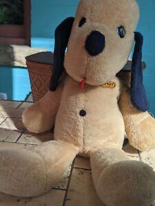 "Animal Fair Henry Plush Puppy Dog Doll Vintage Stuffed Animal Large 30"""