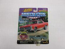 1:64th 1967 Pontiac GTO Blue Johnny Lightning  Muscle Cars USA