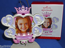 Hallmark Photo Holder Ornament Disney Our Little Princess 2014 Picture Frame NIB