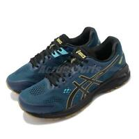 Asics GT-2000 7 Trail 2E Wide Mako Blue Black Men Running Shoes 1011A181-400