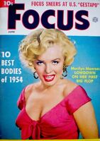 Marilyn Monroe Magazine 1954 Focus Phil Burchman 20th Century Fox Niagara Rare