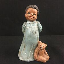 Vtg Figurine All God's Children Martha Holcombe Artwork Amy #63 (1986)