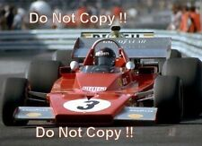 Jacky Ickx Ferrari 312 B3 Monaco Grand Prix 1973 Photograph 5