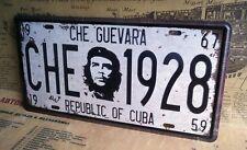 CHE GUEVARA REVOLUCION TARGA METALLO CUBA LICENSE PLATE VINTAGE POSTER SOUVENIRE