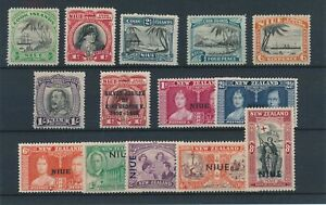 [31203] Niue Good lot Very Fine MH stamps