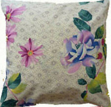 Cushion Cover vintage white floral Cotton Home Sofa pillow envelope back 16""