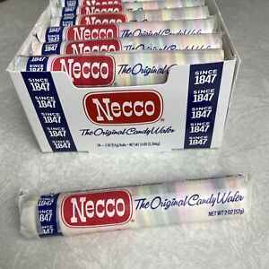 1 Roll NECCO Candy Wafer Wafers Original Flavor New Exp 06/11/23