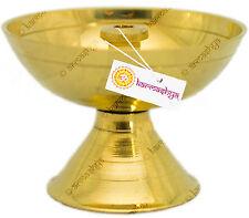 30gms BRASS NANDA DEEPA DIYA METAL AARTHI OIL LAMP BURNER POOJA Akhand Jyoth