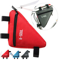 Bike Cycling Bag Front Tube Frame Phone Waterproof Triangle Pouch Frame Holder