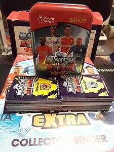 Match Attax Extra 2016/17 Mega Tin with 130!! Brand new Cards Bronze Eden Hazard