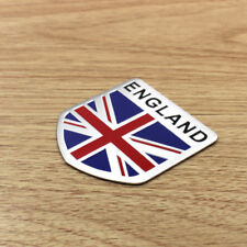 Car Door Fender Tailgate Metal British Flag Shield Style Sticker Badge Fashion