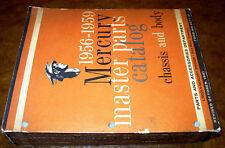 56 59 1957 1958 1959 Mercury Parti Catalogo Monterey Montclair Parklane Commuter