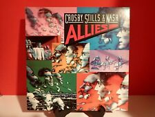 Crosby Stills & Nash Allies 1983 Vinyl Record LP Album  VG+/VG+