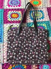 Purple Ditsy Print Shoulder Bag NEW